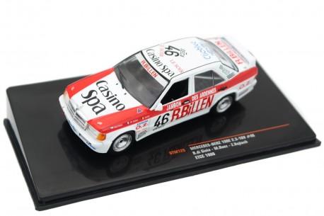 "IXO Mercedes-Benz 190E 2.3-16V #46 ""Carlsson Motorsport"" ETCC 24 Hours of Spa-Francorchamps 1986 - B.di Gioia/M.Duez/Z.Vojtěch"