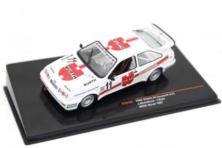 """IXO Ford Sierra RS 500 Cosworth #11 """"Wolf Racing Team"""" WTCC Grand Prix ČSSR Brno 1987 - J.Winkelhock/F.Biela"""