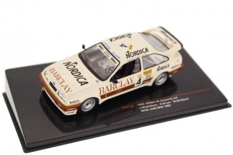 "IXO Ford Sierra RS 500 Cosworth #4 ""Wolf Racing Barclay"" WTCC 24 Hours of Spa-Francorchamps 1987 - J.Winkelhock/D.Artzet/M.Burkh"