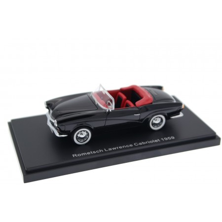 BoS-Models Volkswagen Rometsch Lawrence Cabriolet 1959 - Black
