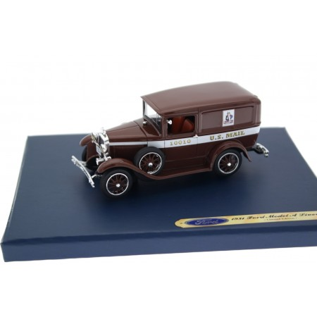 Motorhead Ford Model A Panel Delivery Van US Mail #10010 79B 1931 - Thorne Brown