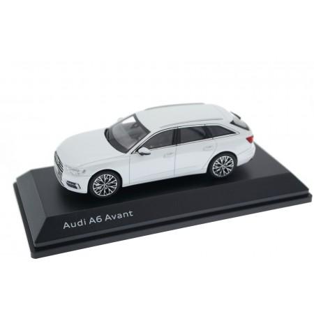 iScale Audi A6 Avant C8 2018 - Glacier White