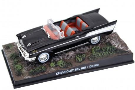 "Altaya Chevrolet Bel Air Convertible ""Dr. No (1962)"" 1957 - Onyx Black"