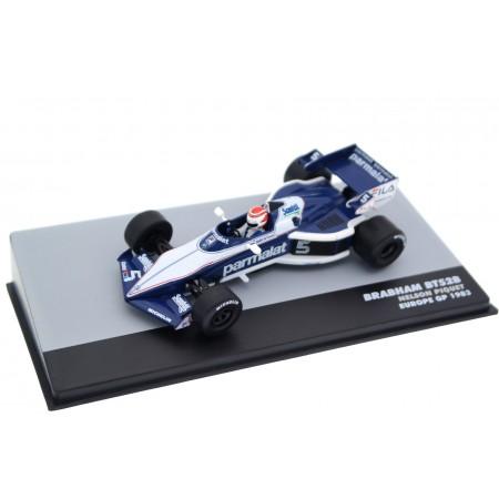 "Altaya Brabham BT52B #5 ""Fila Sport"" Winner European Grand Prix World Champion Formula 1 1983 - Nelson Piquet"