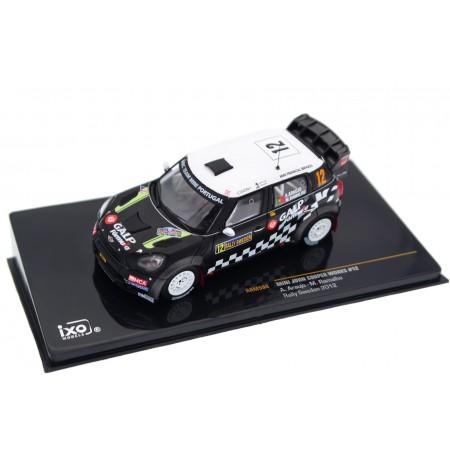 "IXO Mini John Cooper Works WRC #12 ""Armindo Araújo WRT"" 60th Uddeholm Swedish Rally 2012 - A.Araújo/M.Ramalho"
