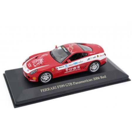 IXO Ferrari F599 GTB Fiorano Panamerican Tour 2006 - Rosso Scuderia