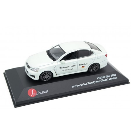 J-Collection Lexus IS-F Nürburgring Taxi Timo Glock XE20 2009 - Opaline Pearl Metallic
