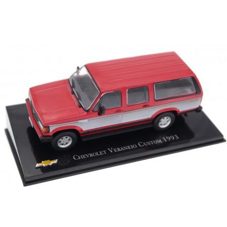 Hachette Chevrolet Veraneio Custom Deluxe 1993 - Medium Garnet Red with Decor