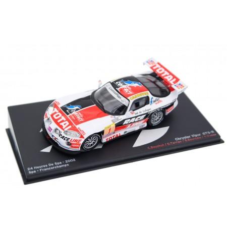 "Altaya Chrysler Viper GTS-R #1 ""Larbre Compétition Chereau"" Winner 24 Hours of Spa 2002 - Bouchut/Terrien/Bourdais/Vosse"