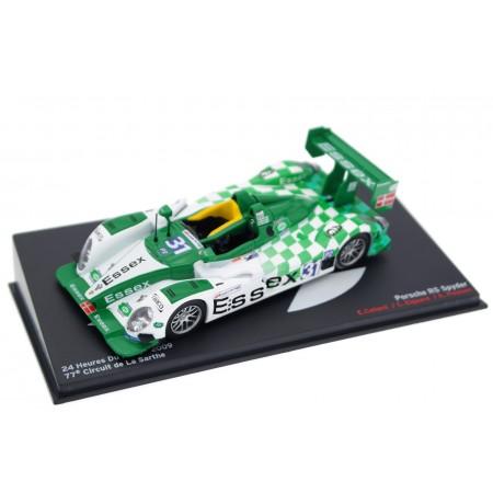 "Altaya Porsche RS Spyder Evo #31 ""Team Essex"" 24 Hours of Le Mans 2009 - C.Elgaard/K.Poulsen/E.Collard"