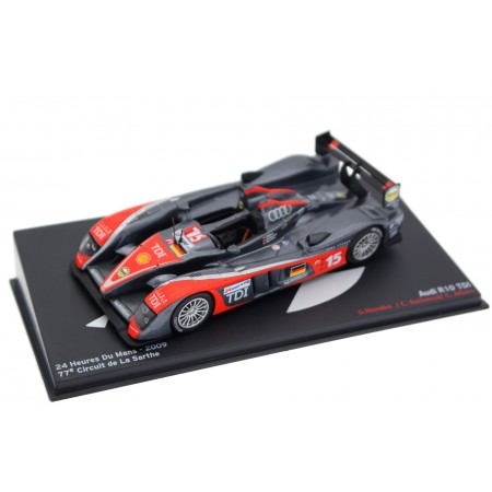 "Altaya Audi R10 TDI #15 ""Kolles"" 24 Hours of Le Mans 2009 - C.Bakkerud/C.Albers/G.Mondini"