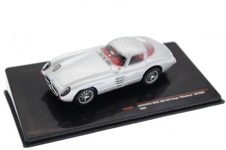 IXO Mercedes-Benz 300 SLR Coupé Uhlenhaut W196S 1955 - Silver Metallic