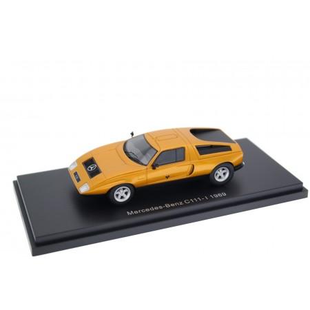 BoS-Models Mercedes-Benz C111-I 1969 - Vin Gris Orange Metallic