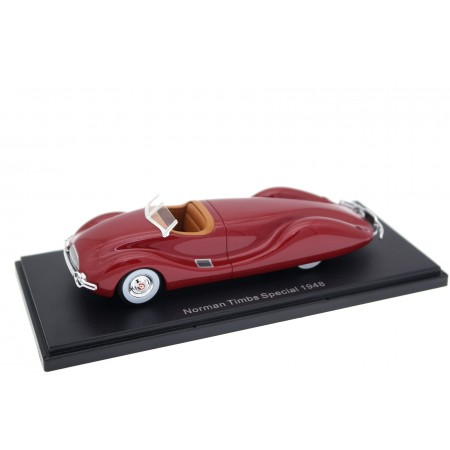 Neo Scale Models Buick Special Streamliner by Norman Timbs 1948 - Maroon Red Metallic