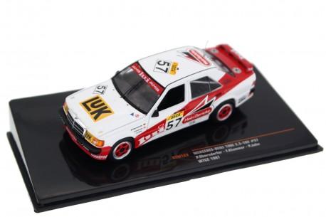 """IXO Mercedes-Benz 190E 2.3-16V #57 """"AMG Marko RSM"""" WTCC 24 Hours of Spa-Francorchamps 1987 - P.Oberndorfer/F.Klammer/P.John"""