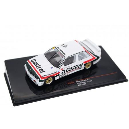"IXO BMW M3 E30 #71 ""Garage du Bac"" ETCC Dijon Burgundy 500 1988 - J.P.Malcher/P.Petit"