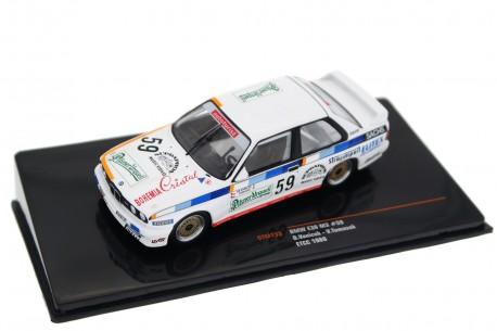 """IXO BMW M3 E30 #59 """"ÚAMK ČSSR"""" ETCC The Donington 500 Race Meeting 1988 - O.Vaníček/V.Tomášek"""