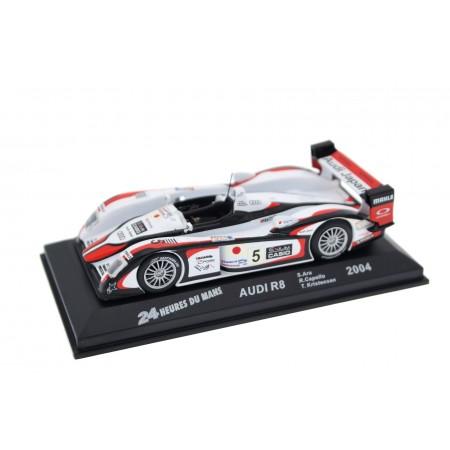 "Altaya Audi R8 #5 ""Audi Sport Japan Team Goh"" Winner 24 Hours of Le Mans 2004 - S.Ara/R.Capello/T.Kristensen"