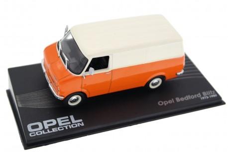 Altaya Opel Bedford Blitz Kasten 1973 - Cargo Orange/Cargo White