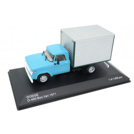 Whitebox Dodge D-400 Box Van 1971 - Desert Turquoise