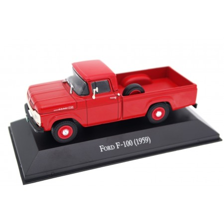 Altaya Ford F-Series III F-100 1959 - Torch Red