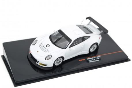 IXO Porsche 911 GT3 R Ready to Race Plain Body 991 2017 - Pure White