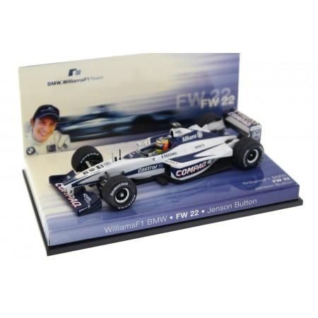 "Minichamps Williams FW22 #9 ""BMW WilliamsF1 Team"" Formula 1 2000 - Jenson Button"