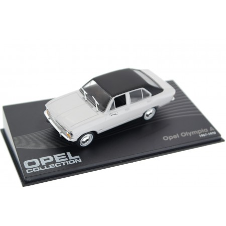 Altaya Opel Olympia A 1967 - Oyster Grey with Black Roof