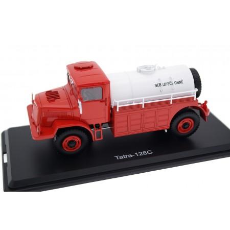 Premium ClassiXXs Tatra 128C 4x4 Tanker 1951 - Red/White