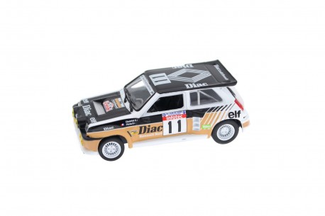 "Norev Renault 5 Maxi Turbo #11 ""Société Diac"" 2nd on 30th Tour de Corse Rally 1986 - F.Chatriot/M.Perin"