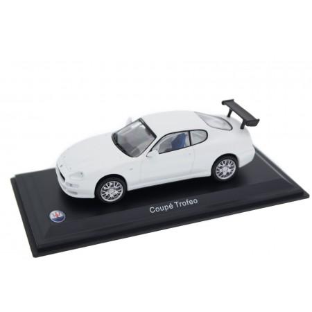 Altaya Maserati Coupé Trofeo Cambiocorsa Plain Body 2003 - Bianco Eldorado