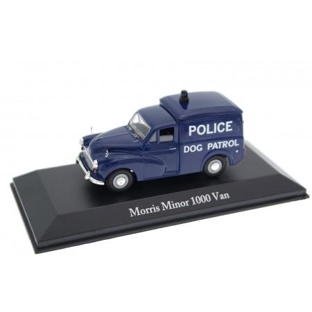 Atlas Corgi Morris Minor 1000 Van Police West Riding Constabulary Dog Patrol 1969 - Ink Blue
