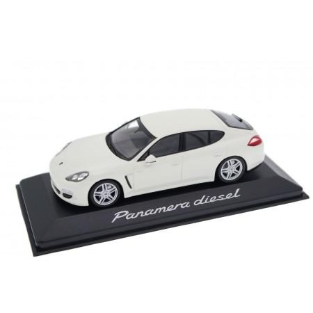 Minichamps Porsche Panamera Diesel 3.0 V6 970 G1 2012 - Carrara White