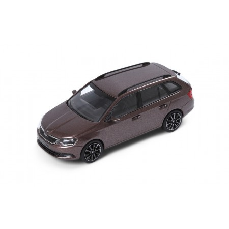 iScale Škoda Fabia Combi III 2014 - Topaz Brown Metallic