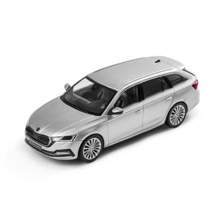 iScale Škoda Octavia Combi A8 2019 - Silver Brilliant Metallic