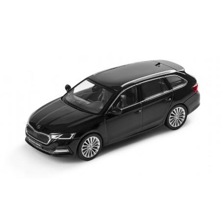 iScale Škoda Octavia Combi A8 2019 - Black Magic Metallic