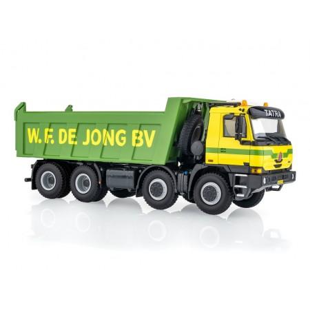 Kaden Tatra T815 8X8 Terrno De Jong 2008 - Yellow/Green