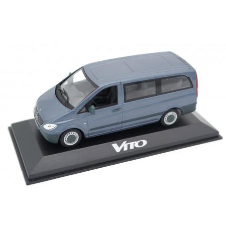 Minichamps Mercedes-Benz Vito Bus 115 CDI W639 2003 - Lugano Gray Metallic