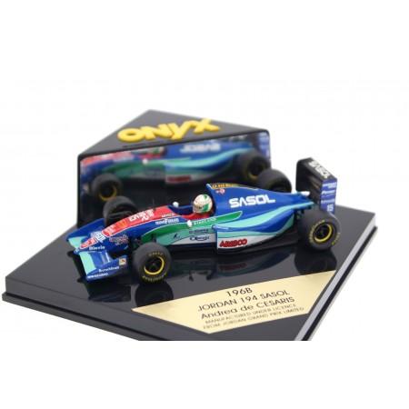 """Onyx Jordan 194 #15 """"Sasol Jordan"""" Formula 1 1994 - Andrea de Cesaris"""