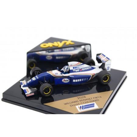 "Onyx Williams FW16B #2 ""Rothmans Williams Renault"" Formula 1 1994 - David Coulthard"