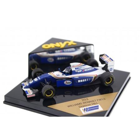 "Onyx Williams FW16B #0 ""Rothmans Williams Renault"" Formula 1 1994 - Damon Hill"
