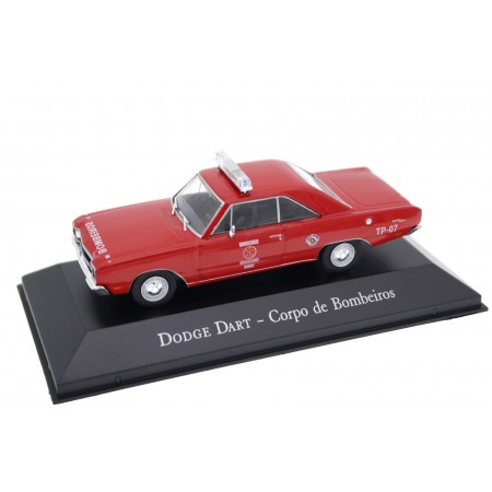 "Altaya Dodge Dart ""Corpo De Bombeiros"" 1974 - Red"