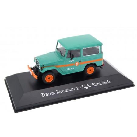 "Altaya Toyota Bandeirante FJ40 ""Light Eletricidade"" 1967 - Indian Turquoise"