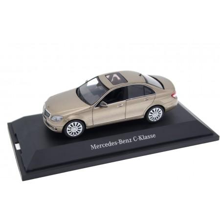 Schuco Mercedes-Benz C-Class Elegance W204 2008 - Sand Beige Metallic