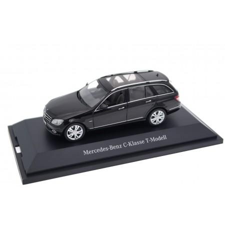 Schuco Mercedes-Benz C-Class T-Modell Avantgarde S204 2008 - Obsidian Black Metallic