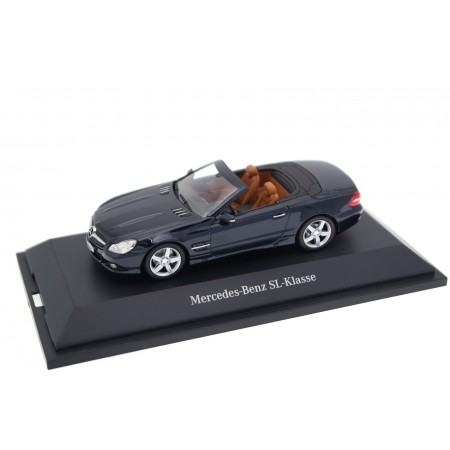 Minichamps Mercedes-Benz SL-Class R230 MOPF II 2008 - Chromite Black Metallic