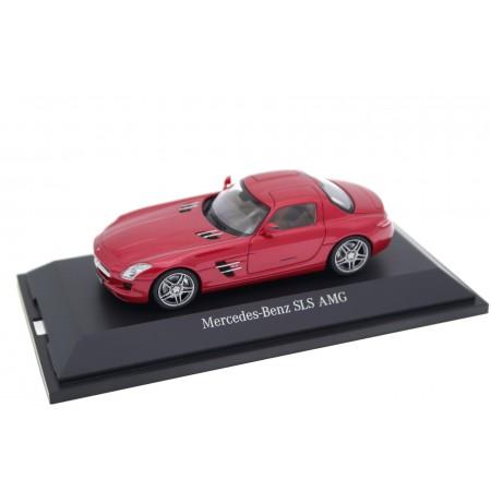 Schuco Mercedes-Benz SLS AMG Coupé 6.3 C197 2010 - Le Mans Red Metallic