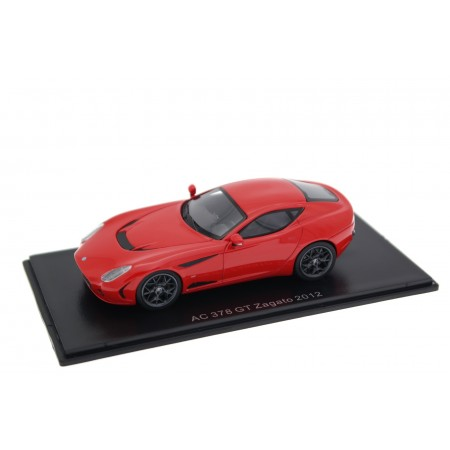 Neo Scale Models AC 378 GT Zagato 2012 - Electric Red