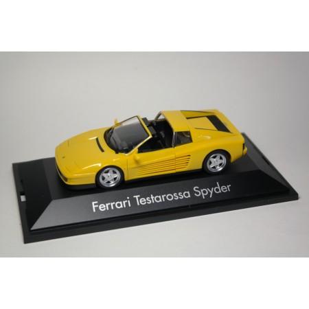Herpa Ferrari Testarossa Spyder F110 Targa 1984 - Giallo Fly Yellow