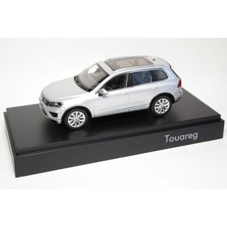 Herpa Volkswagen Touareg II 7P Facelift 2015 - Reflexsilver Metallic